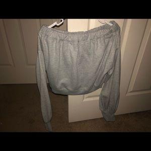 Brand new crop top sweater
